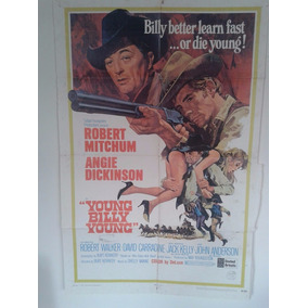 Posters Young Billy Young (robert Mitchum) 0,68 X 1,04 #564