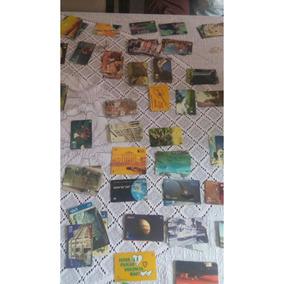 Lote Com 450 Cartões Telefônicos Colecionáveis
