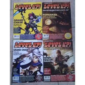 Level Up Combo De 4 Revistas Posters!!