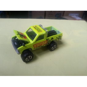 Toyota Hi Lux 4x4 Pick Up Majorette Made In France