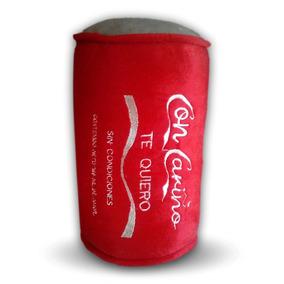 Lata De Peluche Con Cariño Tipo Coca Cola