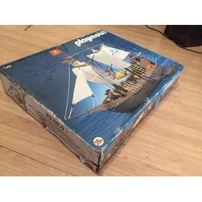 Playmobil Raríssimo Trol - Caravela Pirata - Caixa Original