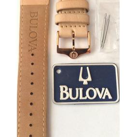 Pulseira De Couro Bulova