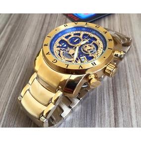 2836dc0a031 Relogio Bvlgari - Lançamento Coleção - Relógios no Mercado Livre Brasil
