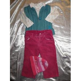 Pantalon Chaleco Harvest Gorro Polo Niña 2 Años 4 Piezas B30 e8cb01e1d45