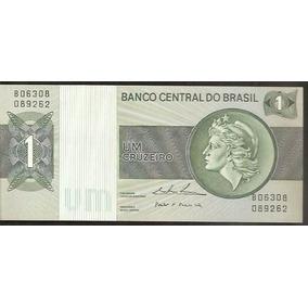 Cedula 1 Cruzeiro Verdadeira Frete Grátis