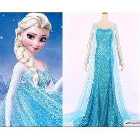 Vestido De Frozen Mujer Adulta