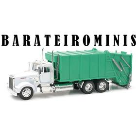 1:32 Caminhão De Lixo Kenworth W900 - Barateirominis