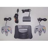 Nintendo 64, En Excelente Estado, Con Un Control Y Un Juego