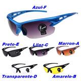 Óculos Sol Ciclista Esporte Esportivo Pronta Entrega