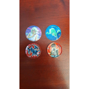 Lote Tazos Yu-gi-oh Normal E Metal - Elma Chips