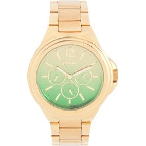 Relógio Euro Premium Fem Dourado Tam Grande Eu6p29agj/4c