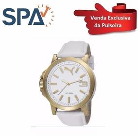 886c07bfe93 Relogio Puma Pulseira Branca E - Relógio Puma no Mercado Livre Brasil