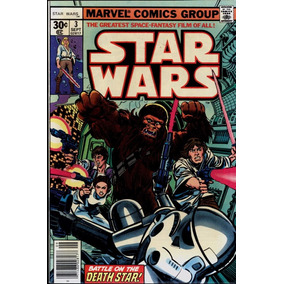 Star Wars #3 Set De 1977 Marvel 9.2 (importado)