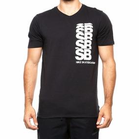 98ad85c128 Camiseta Nike Sb Cut Tee 806065-010 Negra Para Hombre