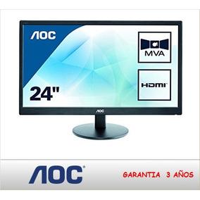 Aoc Monitor M2470swh Ful Hd Led 24 Vga Hdmi(sumcomcr)