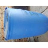 Tambor Tanque De Plastico De 200ltros Azul Y Blanco