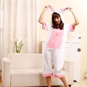 Mameluco Adulto, Kigurumi, Pijama En Short Conejo