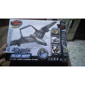Air Hogs R/c Hawk Eye Blue Sky / Aeromodelismo
