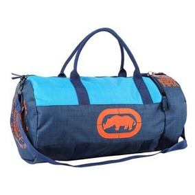 Sacola Bolsa Ecko High Speed Azul/ Laranja