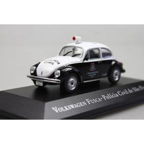 Coleção Veículos De Serviço Volkswagen Fusca - Polícia Civil