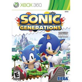 Jogo Sonic Generations (novo) Xbox 360