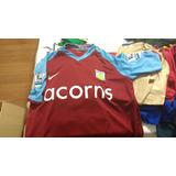 16d11d90f5 Camisa Do Aston Villa 2009 - Futebol no Mercado Livre Brasil