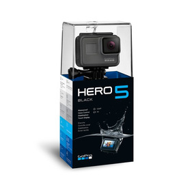 Gopro Hero5 Black +64gb C/10+bastão Camera Gopro 5 Tela Lcd