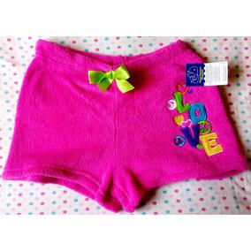 Short De Pijama Talla 12-14 Importado Niñas