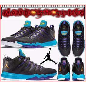 05eb6602e33 Tenis Jordan Cp3 Basketball Baloncesto Botas Nike Lebron Nba