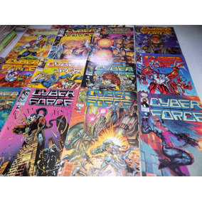 Cyber Force Lote Do 01 Ao 14