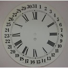 4b10b5a92b3 Mostrador Relógio Ansônia Oito Com Calendário - Original