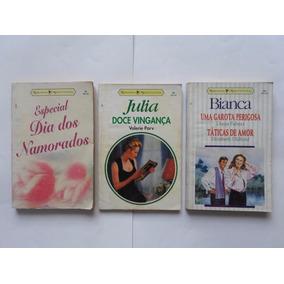 Lote 3 Livros De Romances - Júlia Doce Vingança E Outros.