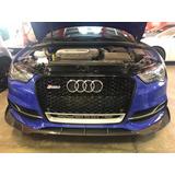 Lip Delantero Audi A3 S3 Sline Fibra De Carbon Auto Gcp