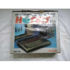 Msx Sharp Home Computer Hot Bit - Hot Bit Hb 8000 - Sharp