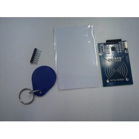 Kit Leitor Rfid Rc522 + Tag + Cartão S50 13.56mhz Arduino