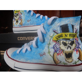 Converse Guns N Roses, Metal, Rock
