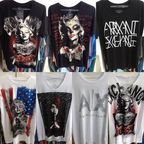 871d83fb918 Camiseta Armani Exchange Coleção Paises 100% Original - Calçados ...