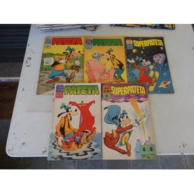 Lote 5 Revistas Pateta E Superpateta! Editora Abril 1977-79!