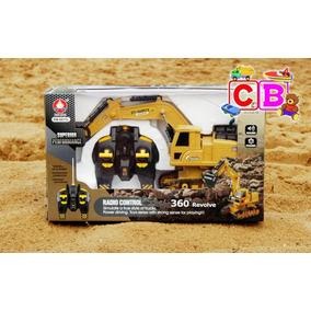 Trator Escavadeira 6811lcontrole Remoto8canais Frete Grátis
