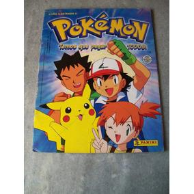 Album De Figurinhas Pokemon Nº 2 - Incompleto