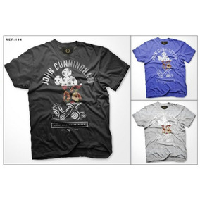 São Paulo · Kit 10 T-shirts Atacado Jonh Cunnigham Estampas Variadas 69bd7484db2