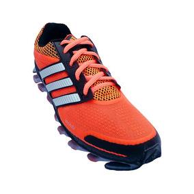 Tênis adidas Springblade Laranja E Preto Original