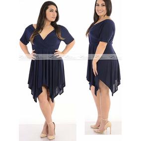 Vestido Feminino Plus Size Pronta Entrega Tamanhos G A Xxg