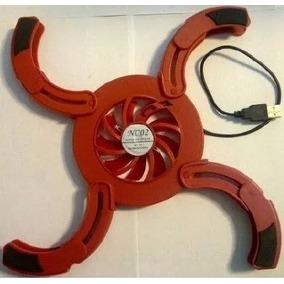 Base Fan Cooler Mini Laptop Disipador Wbr-207-l Usb 1fan Ccc