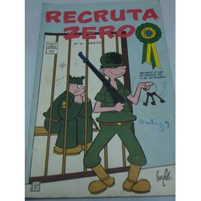 Recruta Zero A Cores Nº 76 De 1969 Gibi Raro Rge Excelente