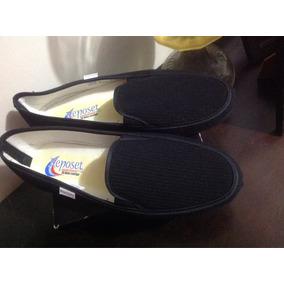 Zapato Mocasín Reposet Textil 29 Mex Descanso Plus Size C267