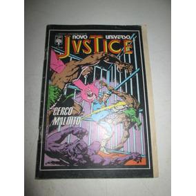 Justice Novo Universo Nº 2 Com Selo Editora Abril