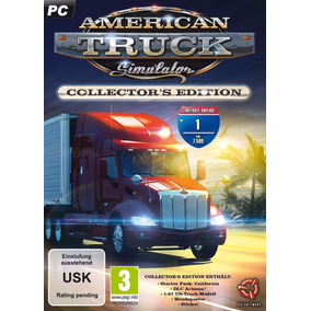 American Truck Simulator - Pôster Do Game Em Alta Resolução