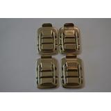 Ferragens Para Case - 4 Fechos + 8 Pézinhos Metalicos